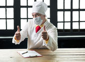 Doctor in the mask — Stock Photo