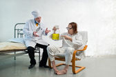 Doctor and patient — Foto Stock