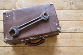 Suitcase for tools — Stockfoto