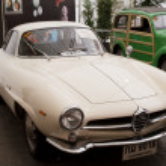 Alfa Romeo Giulia SS 1570 CC , Vintage cars — Stock Photo #12619355