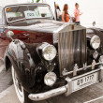 Rolls-Royce Silver Dawn 2,997 CC , Vintage cars — Stock Photo #12619936