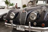 Jaguar XK140, Vintage cars — Stock Photo