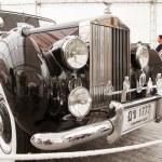 Rolls-Royce Silver Dawn 2,997 CC , Vintage cars — Stock Photo #12620002