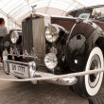Rolls-Royce Silver Dawn 2,997 CC , Vintage cars — Stock Photo #12620031