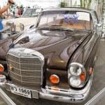 Mercedes-Benz 280SE Convertible, Vintage cars — Stock Photo