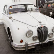 Jaguar Mark II, Vintage cars — Stock Photo