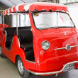 Fiat 600 Multipla Jolly , Vintage cars - Stock Photo