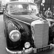 Mercedes-Benz 300B, Vintage cars - Stock Photo