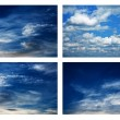 Стоковое фото: Patterns of clouds in sky.
