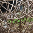 Stock Photo: Woven wicker or bamboo balls