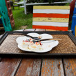 Cake plate to eat out. — ストック写真 #33888485