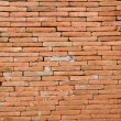 Red brick wall texture — Foto de Stock
