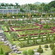 Nong Nooch tropical garden in Pattaya, Thailand — Stock Photo