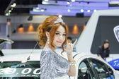 NONTHABURI, THAILAND - NOVEMBER 6: girl The 30th Thailand Intern — Stock Photo