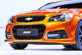 NONTHABURI, THAILAND - DECEMBER 1 : Chevrolet SS car on display — Stock Photo
