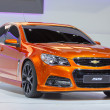 Stock Photo: NONTHABURI, THAILAND - DECEMBER 6 : Chevrolet SS car on display