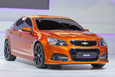 NONTHABURI, THAILAND - DECEMBER 6 : Chevrolet SS car on display — Stock Photo