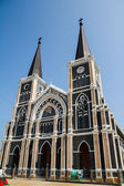Cathedral of Mary Immaculate Conception, Chanthaburi. — Foto de Stock