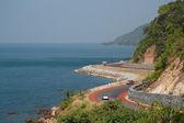 Mar de estrada, Tailândia — Fotografia Stock