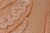 Cream fabric texture — Stock Photo