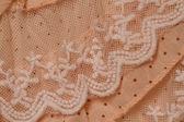 Textura de la tela crema — Foto de Stock