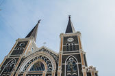 Cathedral of Mary Immaculate Conception, Chanthaburi. — Stock Photo