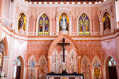 The cathedral of the immaculate conception, Chanthaburi, Thailan — Stockfoto
