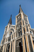 Cathedral of Mary Immaculate Conception, Chanthaburi,Thailand — Stock Photo