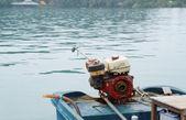 Barca lunga coda in thailandia — Foto Stock