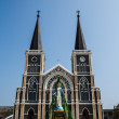 Stock Photo: Cathedral of Mary Immaculate Conception, Chanthaburi.