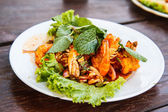 Thailand shrimp salad — Stock Photo