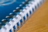 Notebook have Ring Binder — Stock Photo