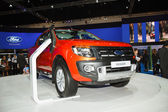 BANGKOK THAILAND-MARCH 30 : Ford Ranger displayed on stage at Th — Stock Photo