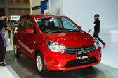 Bangkok - 30 maart: suzuki celerio auto tentoongesteld in de 35e ba — Stockfoto