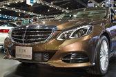 BANGKOK - MARCH 30: Mercedes-Benz E 300 Blue TEC HYBRID car on d — Stock Photo