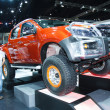 Постер, плакат: Bangkok March 30 : All new orange D max car from Isuzu at The 3