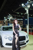 BANGKOK - MARCH 30 : Bentley The new Flying Spur car with Uniden — Stock Photo