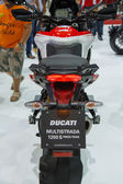BANGKOK - MARCH 30: Ducati Multistrada 1200 s motorbike on displ — Stock Photo
