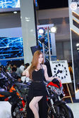 Pretty Girl in Bangkok Motor Show. — Stock Photo