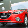 Постер, плакат: BANGKOK MARCH 30: Mazda 3 car on display at The 35th Bangkok I