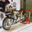 Постер, плакат: BANGKOK MARCH 30: Ducati Superbike 1199 Panigale on display at