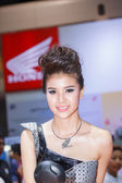 BANGKOK - MARCH 30 : Unidentified model with Honda on display at — Stock Photo