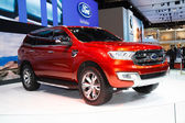 BANGKOK - MARCH 30 :Ford Everest 4WD on display at The 35th Bang — Stock Photo