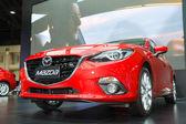 BANGKOK - MARCH 30: Mazda 3 car on display at The 35th Bangkok I — Stock Photo