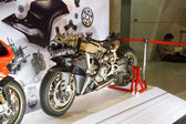 BANGKOK - MARCH 30: Ducati Superbike 1199 Panigale on display at — Stock Photo