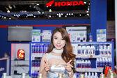 Pretty Girl in Bangkok Motor Show. — Stock Photo