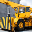 Yellow Crane truck — Stock Photo #47300405
