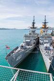 CHONBURI, THAILAND - MAY 11: The FAST FRIGATE ,FF battle ship wa — Stock Photo