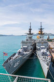 CHONBURI, THAILAND - MAY 11: The FAST FRIGATE ,FF battle ship wa — Stock Photo