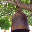 Stock Photo: Old brass bell